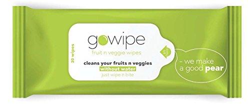 Gowipe Fruit n Veggie Wipes pack of 2