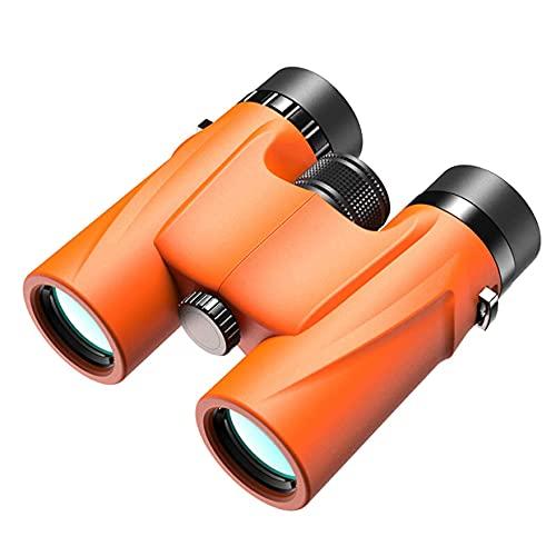 Binoculares Vortex, 8/10x32 Telescopio binoculares portátiles e Impermeables, 10 Segundos Enfoque rápido, Binoculares compactos Gran Angular a Prueba Agua, BAK4 Prism FMC Lens HD Clear View para OBS