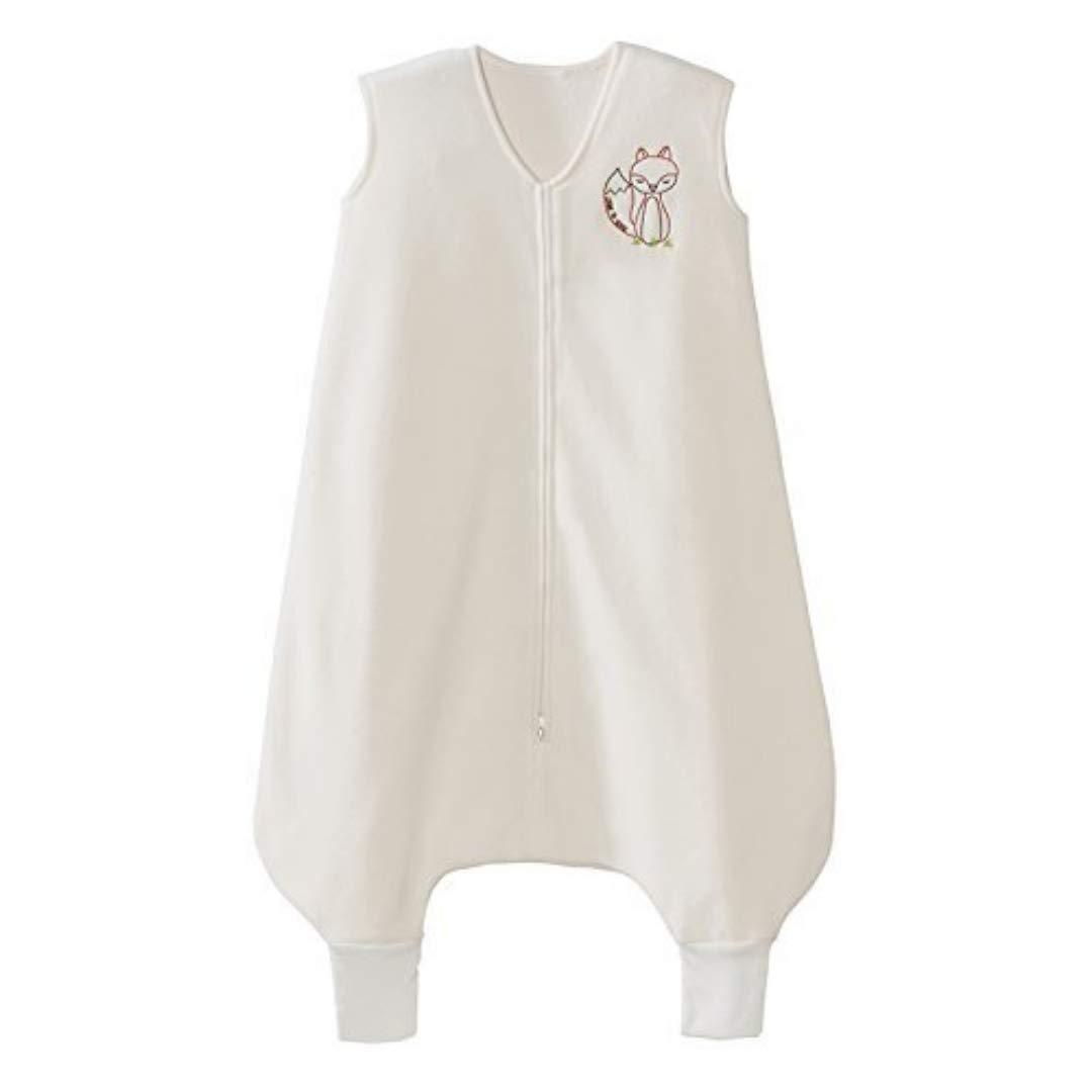 HALO Early Walker Sleepsack Wearable Blanket Micro-Fleece with Fox, Cream, X-Large