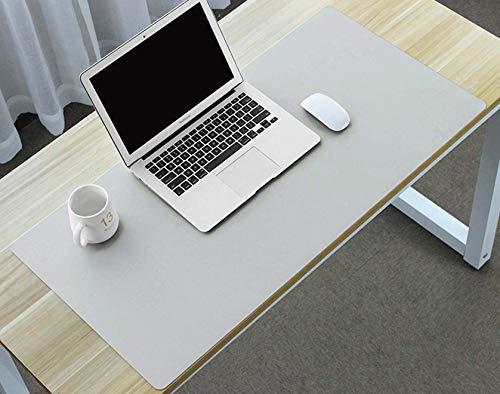Extendido Gaming Mouse Pad,No-Resbalón Oficina Almohadilla de Escritorio,Impermeable Protector de Blotter de Escritorio Mousepads,Dual Sided Uso Almohadilla de Escritorio-Rosa+plata 1000x600mm