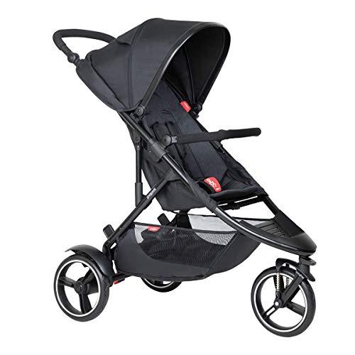 Phil&teds Dot V6 2019+ Kinderwagen, Buggy mit Sitzauflage black