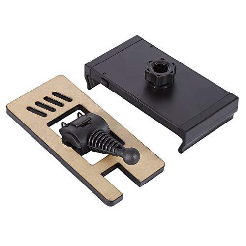 HehiFRlark Soporte extendido para Control Remoto de Tableta ABS de 4-12 Pulgadas para Pro Black