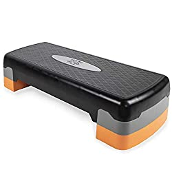 NON-SLIP - The Phoenix Fitness Aerobic Step is designed with a non-slip reinforced platform. Rugged construction but easy and light to carry. LOW IMPACT - Ideal for low impact fat burning workouts in the gym or at the comfort of your home. 2 Heights ...