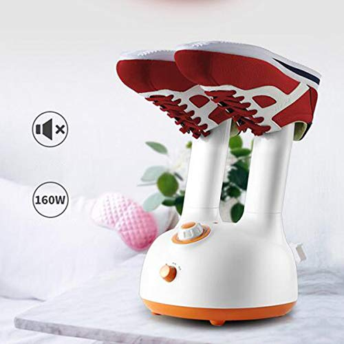 LHJXXKQ Schoendroger, elektrische voetenwarmer, 2-in-1, drogen, warme, intelligente timing ontvochtiging, PTC-verwarmingselement, DC-ventilator, eenvoudige bediening, ruimtebesparend