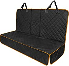 HYHOSHI Waterproof Dog Car Rear Seat Cover, Suitable for Cars, Trucks and SUVs , Dirty Detachable Non-Slip Pet Protective Cover for Car Rear Seats