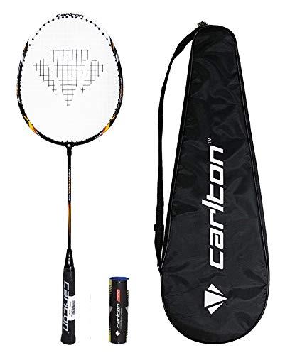 Carlton Racchetta da Badminton PRO Series + Cover e 6 navette (PRO Attack)