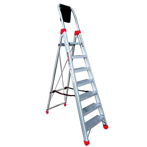 Faraone - Escalera de Aluminio - Escalera de Tijera DOMUS07-