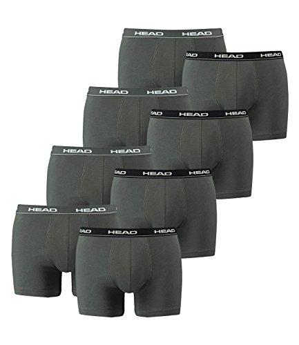 HEAD Men Boxershort 841001001 Basic Boxer 8er Pack, White/Grey/Black, XL