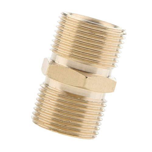 SENRISE - Verbindungsstücke für Hochdruckreiniger in Gold, Größe 22M to 22M