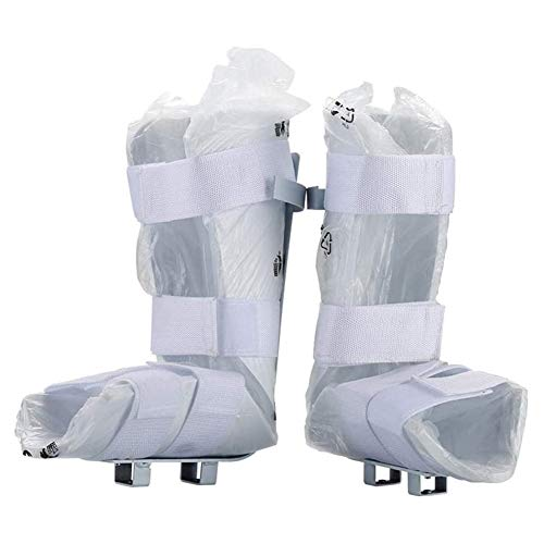 Massage-AED Mini Bicicleta EstáTica EléCtrica Rehabilitación Protectores Piernas,Soporte Máquina Rehabilitación Equipo Protección,hemiplejia...