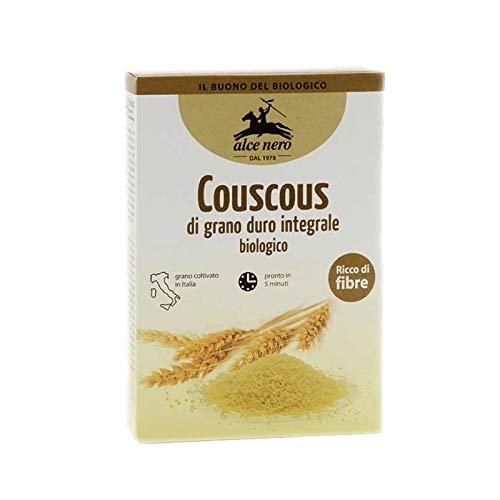 COUSCOUS GRANO DURO INTEGRALE ALCE NERO 500G (0841