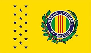 Shoe String King SSK Vietnam Veteran –Vet Outdoor Flag - Large 3' x 5', Weather-Resistant Polyester