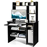 Best Tangkula Office Desks - Tangkula Computer Desk with Hutch, Home Office Desk Review