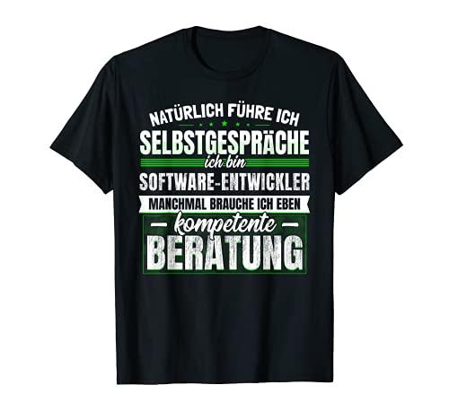 Geschenk Software-Entwickler Lustiges Informatiker T-Shirt
