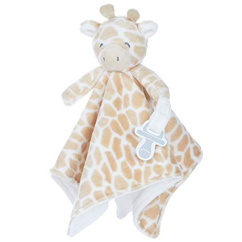 KIDS PREFERRED Carter's Giraffe Plush Stuffed Animal Snuggler Blanket, One Size
