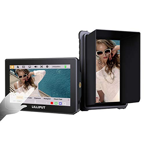 Lilliput 5 pollice T5 Touch 1920 x 1080 4K HDMI 2.0 60P On Camera Field Monitor HDR 3D-LUT ( no batteria )