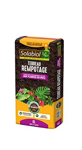 bon comparatif SolabiolTEREMPO6 Terreau d'empotage |  Utilisé en agriculture biologique, 6L, 6L un avis de 2020