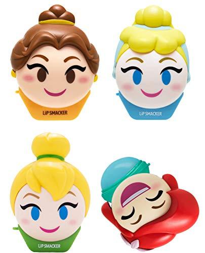 Lip Smacker Disney Emoji Lip Balm 4 Pack - Tinkerbell,...