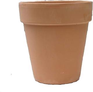 デローマ アンティークトールポット 18cm テラコッタ 植木鉢 素焼き鉢 プランター 陶器鉢