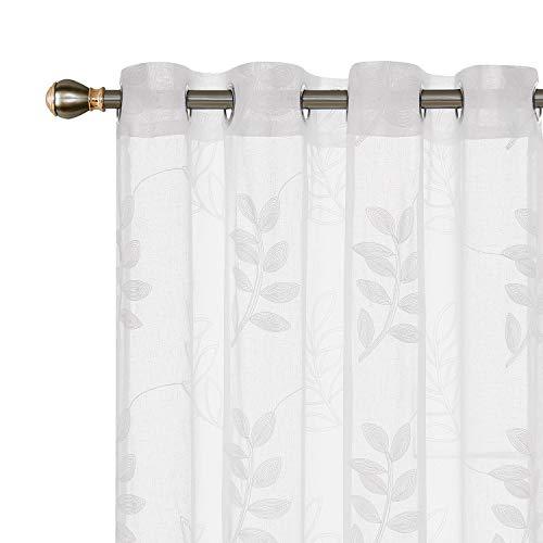 cortinas salon semitransparentes