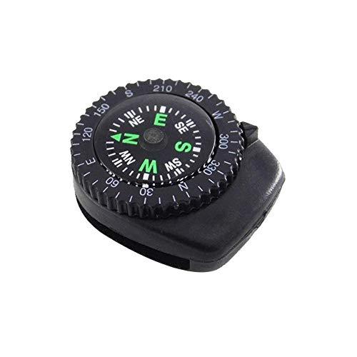 Nobrand Mini Reloj Banda botón brújula Pulsera Camping Senderismo Supervivencia Mini brújula...