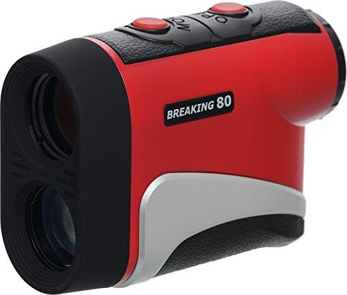 Breaking 80 Golf IS800 Rangefinder, Red