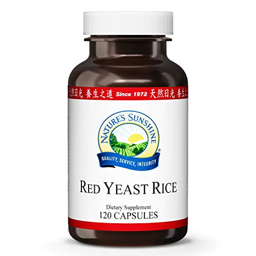 Nature's Sunshine Red Yeast Rice 120 Capsules
