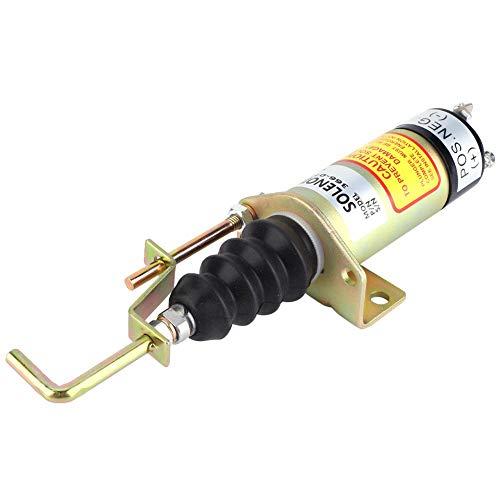 SA-3405T Válvula solenoide de cierre de combustible 366-07197 Válvula magnética resistente de...