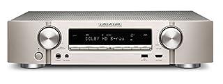 Sintoamplificatore Home Cinema 5.1 5 x 85 Watt (6 ohm, 1%) telaio di altezza ridotta WiFi, Bluetooth, Spotify Connect, Internet radio, Ingresso USB compatibile iPod/iPhone, Dolby TrueHD, DTS HD, Audyssey MultEQ, HDMI 2.0 (4k full rate) controllabile ...