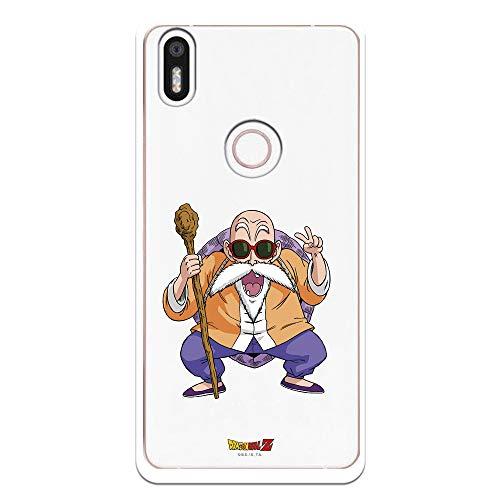 Funda para Bq Aquaris X5 Plus Oficial de Dragon Ball Maestro Mutenroshi para Proteger tu móvil. Carcasa para BQ de Silicona Flexible con Licencia Oficial de Dragon Ball.