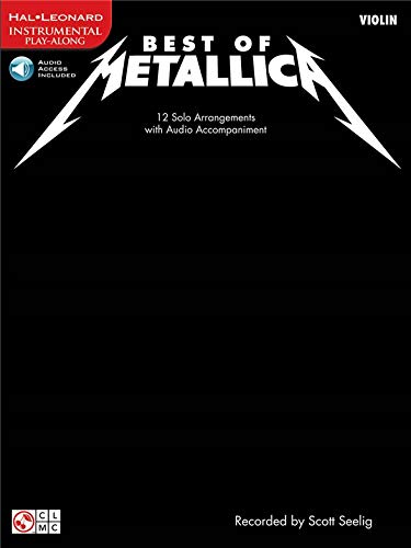 Metallica: Best Of - Violin. Partitions, CD pour Violon