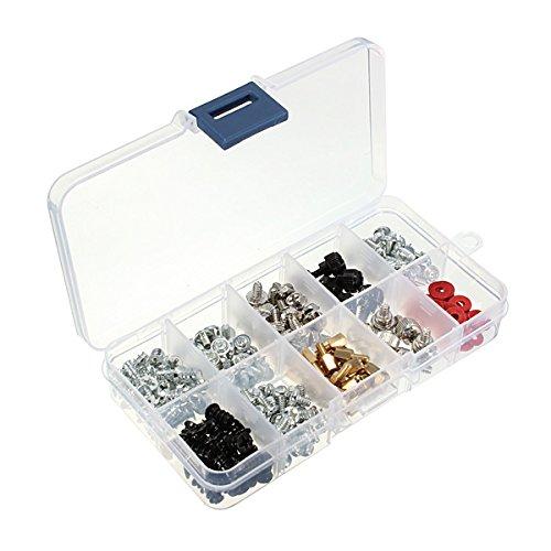 EsportsMJJ 228pcs Computer Case Schroeven Kit Voor Moederbord PC Case Ventilator