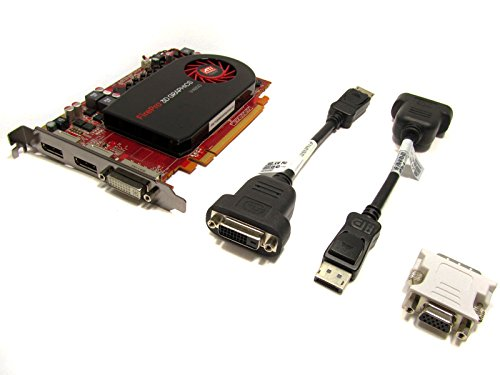 HP Firepro V4800 Grafikkarte (PCI-e, 1GB GDDR5 Speicher)