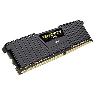 Corsair Vengeance LPX 16GB (1x16GB) DDR4 DRAM 2400MHz (PC4 19200) C14 Memory Kit - Black (B019HVQJ2U) | Amazon price tracker / tracking, Amazon price history charts, Amazon price watches, Amazon price drop alerts