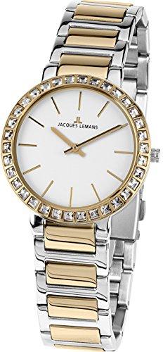 Jacques Lemans Reloj Analógico para Mujer de...