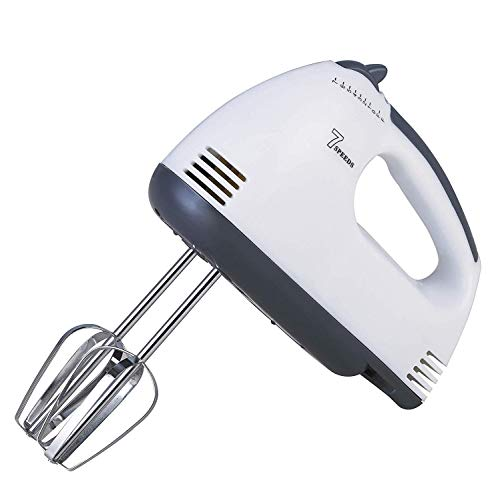 Right Choice - Device Hand Held High Speeds Roasting 180 Watt 7 Speed Electric Beater Appliances for Cake, Cream for Kitchen