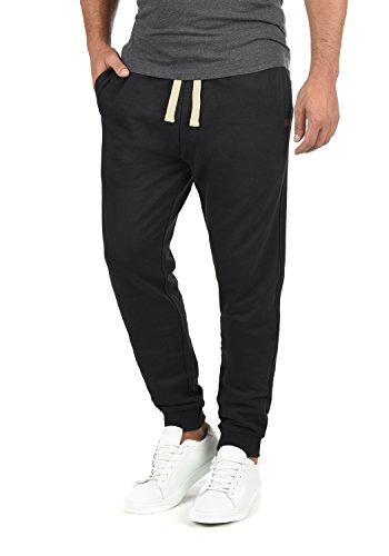 Blend Tilo Herren Sweatpants Jogginghose Sporthose Mit Fleece-Innenseite Und Kordel Regular Fit, Größe:XL, Farbe:Black (70155)