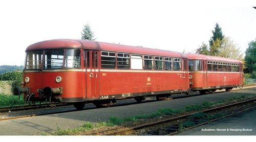 Piko 59612 Schienenbus-Bei/Packwagen 998 DB IV, Schienenfahrzeug