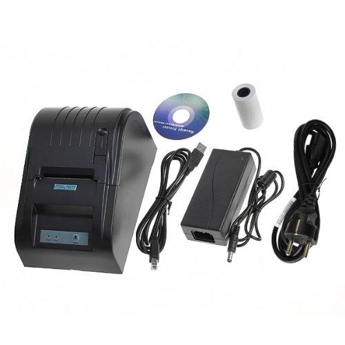 Excelvan NERO 58mm stampante termica per ricevute stampante scontrini Stampante POS 58mm POS ESC Printer