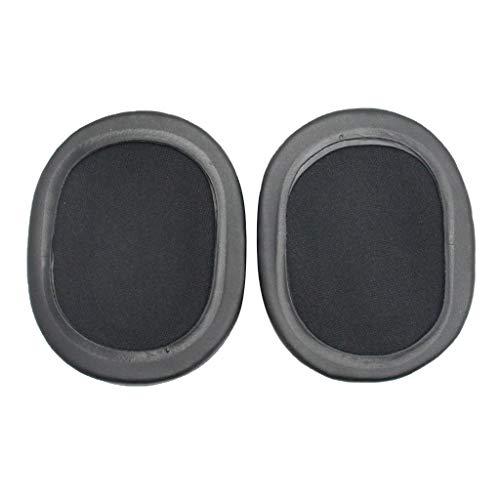 prasku Fundas de Almohadillas para Almohadillas para Audio-Technica ATH-SR5 SR5BT Negro