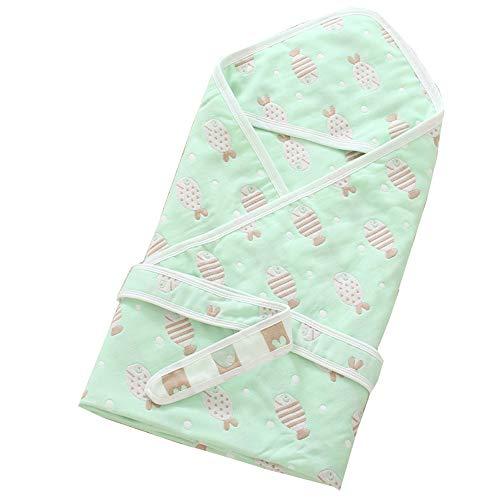household products Couverture de Bébé, Couverture Nouveau-né en Coton Doux et Chaud, Sac de Couchage pour Bébé de 0 À 2 Ans