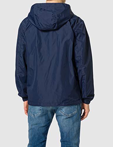 Tommy Jeans TJM Packable Windbreaker Cortavientos, Azul Marino (Twilight Navy), S para Hombre