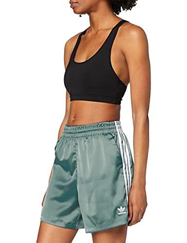 adidas GN2775 Satin Shorts Shorts Womens Hazy Emerald 46