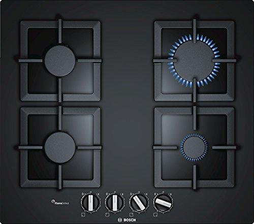 Bosch Serie 6 PPP6A6B20 piano cottura Nero Incasso Gas