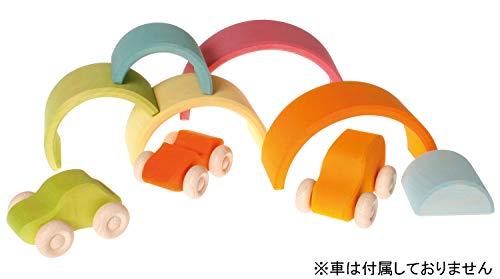GRIMMs Regenbogen, 6-teilig, pastell - 6