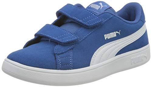 Puma Smash v2 SD V PS Sneaker, Star Sapphire Weiß, 35 EU