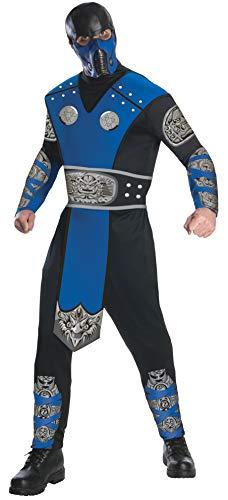 Rubie's Costume officiel Mortal Kombat Sub-Zero pour adulte - Taille L