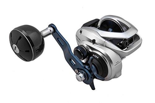 Carretilha de pesca de baixo perfil SHIMANO TRANX, Silver 301 LH, 301AHG
