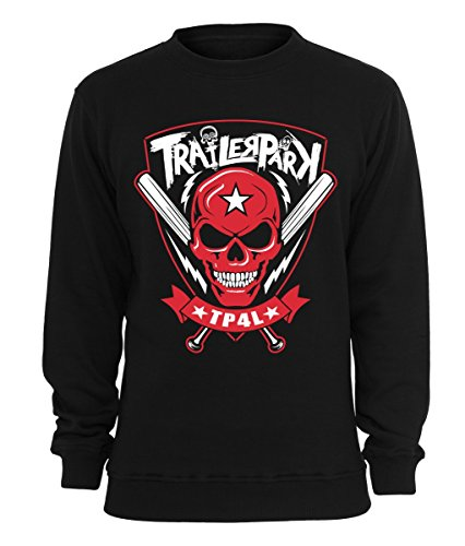 Trailerpark Sweater TP4L, Farbe:schwarz, Größe:XL