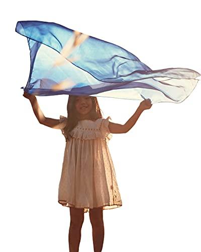 Sarah's Silks playsilk Bleu Royal